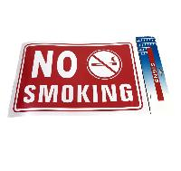 "11.8""x7.9"" Sign [NO SMOKING]"