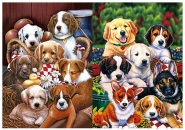 3D Picture 9708--7 Puppies
