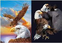 3D Picture 9719--Eagles