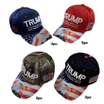 986ca4a0 Trump KEEP AMERICA GREAT Hat [Eagle/Flag Print] ETA:8/9