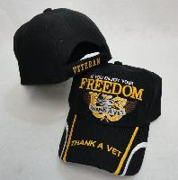 IF YOU ENJOY YOUR FREEDOM-THANK A VET Hat
