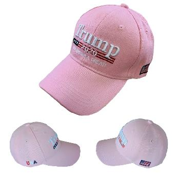 Trump 2020 Hat Keep America Great [Pink Only]