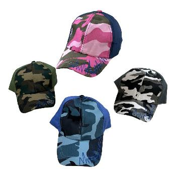 Child's Camo Ball Cap--Assorted Boys and Girls