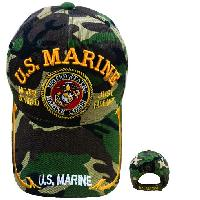 Licensed US Marine Hat [Never Retired/Seal] *Camo