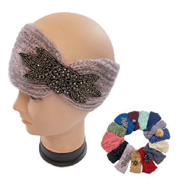 Over Stock Mix & Match Knitted Headband [Loop]