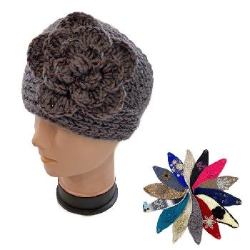Over Stock Mix & Match Knitted Headband [Wide]
