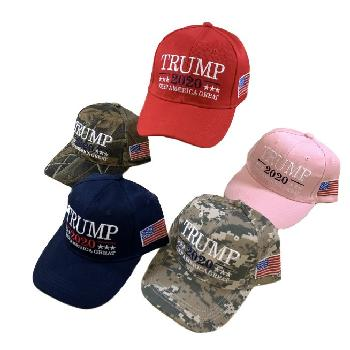 Trump 2020 Hat with Flag  - Trump Hat
