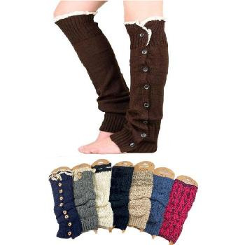 Over Stock Mix & Match Leg Warmers