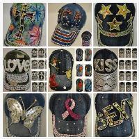 MIX   MATCH BLING RHINESTONE HATS ef8493805e8