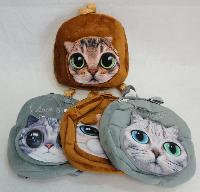 "10.5""X10"" Plush Kitty Back Pack"