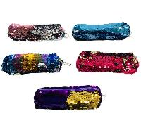 "7.5""x2.75"" Reversible Sequin Pencil Pouch"