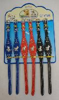"12"" Dog Collar with Metal Characters"