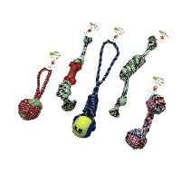 Dog Rope and Tug Toy Assortment