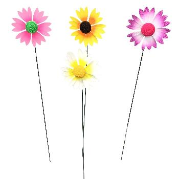 Yard Stake [Colorful Daisies]