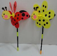 "10.5"" Ladybug/Bumblebee 3D Wind Spinner - Assembly required"