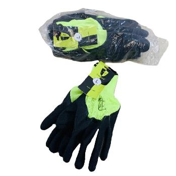 Latex Coated Work Glove [Neon Green]