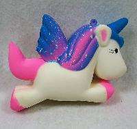Slow Rising Squishy Toy *Unicorn/Blue & Pink Mane