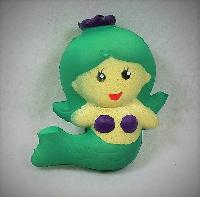 Slow Rising Squishy Toy *Green Mermaid