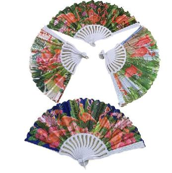 Folding Fan [Flamingo]
