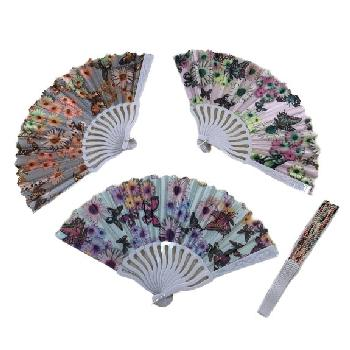 Folding Fan [Printed Butterfly]