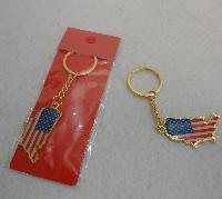 United States/Flag Key Chain