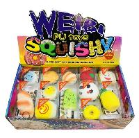 Slow Rising Squishy Toy Key Chain Assortment