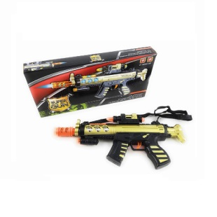 "14"" SUPER GUN Sound/Light Toy Gun"