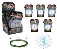 "Flow Rings Kinetic Spring Toy Glitter [Display Box] - <span style=""color:red"">HOT TOY IN THE MARKET</span>"