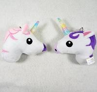Plush Unicorn Key Chain Toy