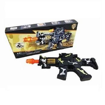 "15"" Camo Machine Gun Sound/Light Toy Gun"