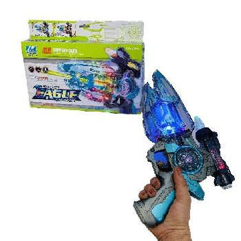 "11"" Galaxy Eagle Sound/Light Toy Gun"