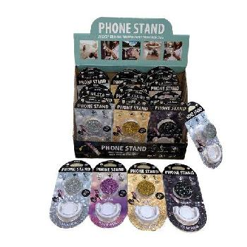 Collapsible Phone/Tablet Grip and Stand [Glitter]
