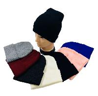 Knitted Cuffed Hat [Assorted Colors]