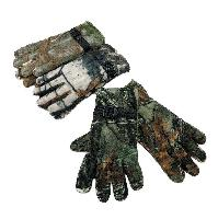 Men's Hardwood Camo Fleece Gloves